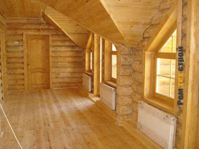 Деревянный дом и система отопления