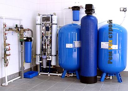 Очистка воды в коттедже. Этапы и оборудование.