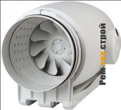 Преимущества канальных вентиляторов