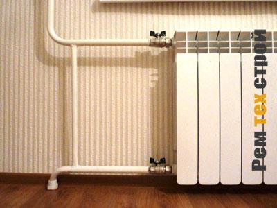 Последовательность монтажных работ системы отопления