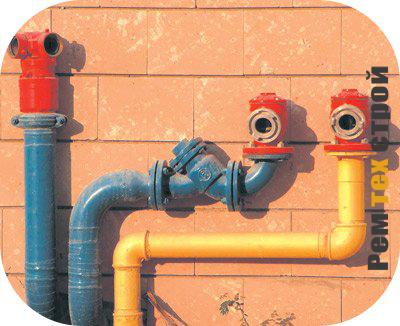 Виды и устройство водяной системы отопления.
