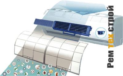 Очищение сплит-системы и кондиционера.
