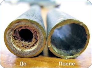 чистим систему отопления химией
