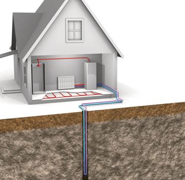 Геотермальное отопление: обогрев частного дома теплом земли