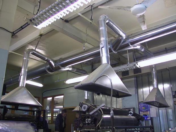 История появления и развития вентиляционных систем.