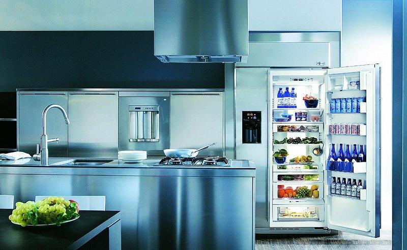 Нюансы при обустройстве бытовой техникой кухни