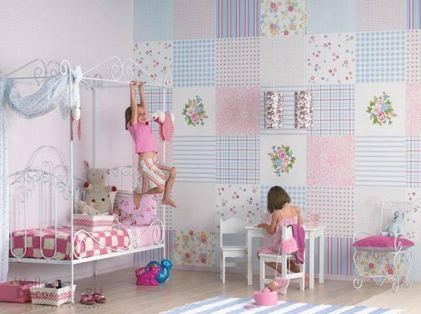 выбор обоев для детской спальни