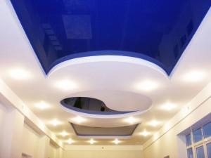 существующие виды натяжных потолков