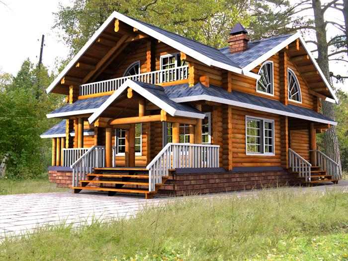 дом из дерева – лучший выбор