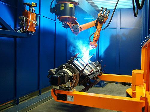 из истории промышленных роботов