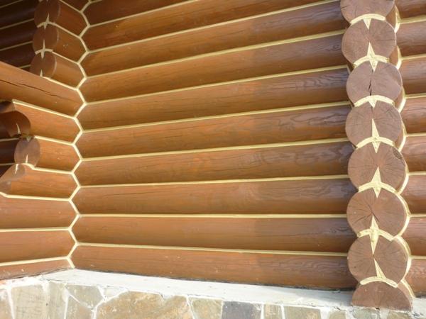 Герметик для заделки швов домов из дерева