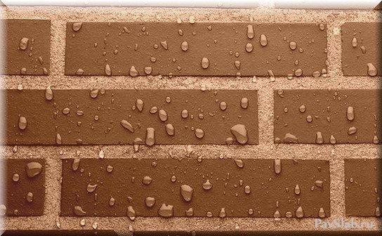 Защита стен зданий от воздействия влаги