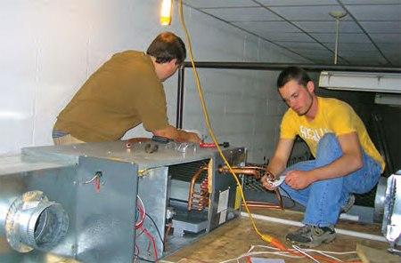 Монтаж вентиляционых систем