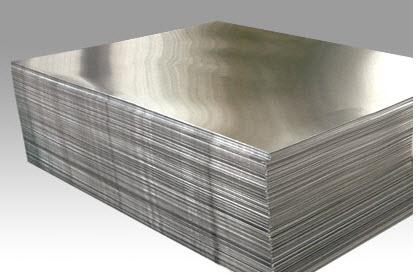 плита из алюминия