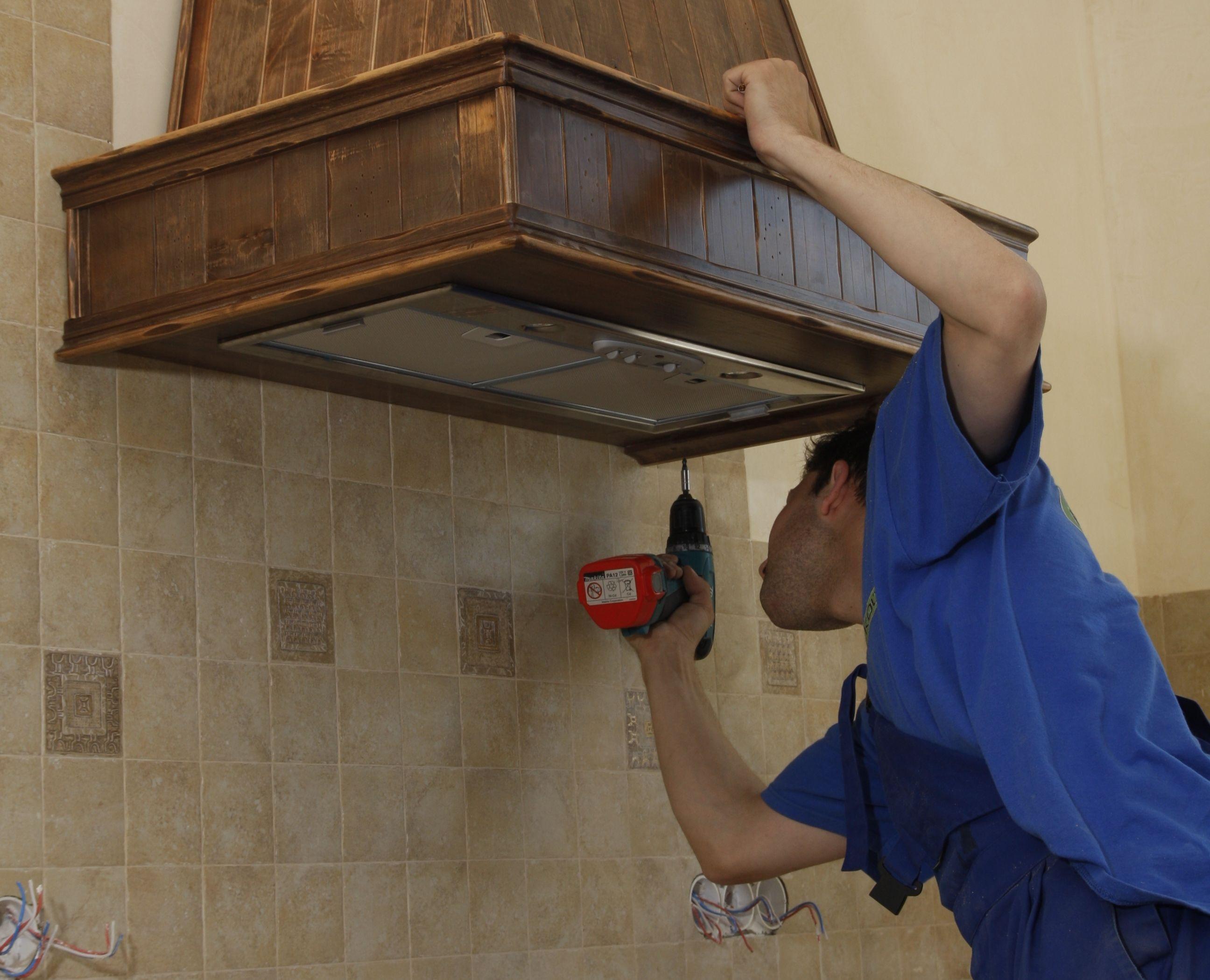 Как сделать вытяжку на кухню фото